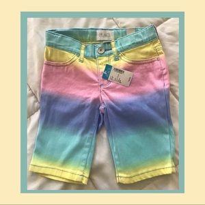 BNWT The Children's Place Rainbow 🌈 Bermuda's